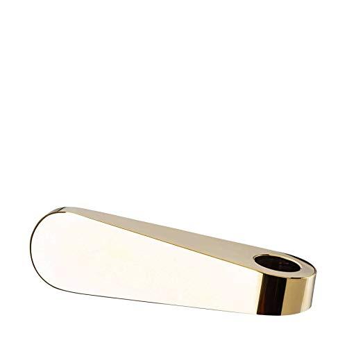 Rosenthal - Kerzenhalter - Kerzenständer - Leuchter - SWAN - Glas - Gold