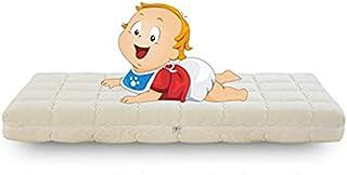 Evergreen web barnmadrass 55 x 125 cm, höjd 12 cm, tillverkad av Waterfoam, 100 % andas, anti-kontorsmadras, perfekt för b...