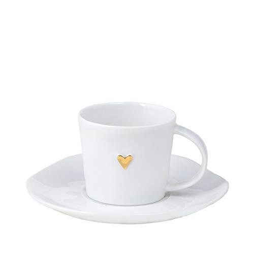 Kleine Tasse, gold (Espressotasse)