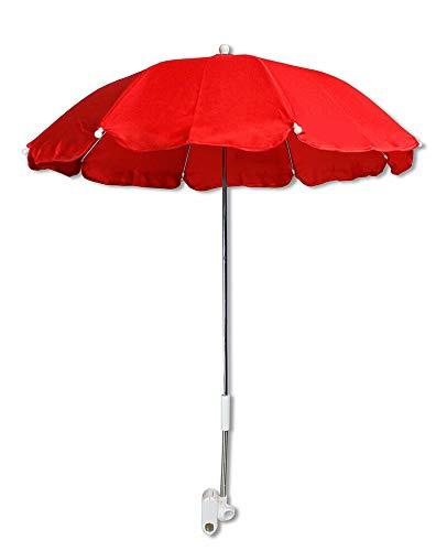 Vetrineinrete® Ombrellino per passeggino parasole ombrello Ø70 cm per carrozzina protezione dai raggi solari uv accessori per carrozzino P78