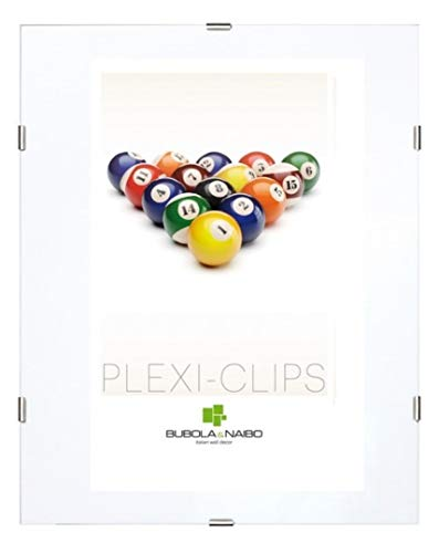 Cornice a giorno Clips plexiglas 60 x 80 cm
