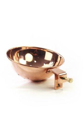 Coppergarden® Sieb zur Feuerzangenbowle ❁ Zuckerhut Halterung aus Kupfer ❁ universell passend zu allen Töpfen