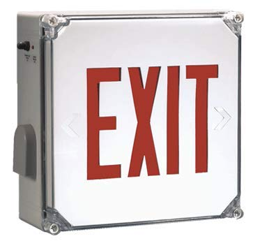Waterproof Exit Sign
