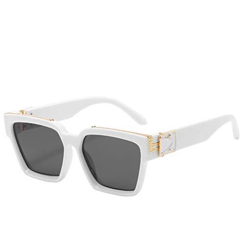 NBJSL Gafas De Sol Clásicas Para Hombres Y MujeresGafas De SolRetro(Caja De Embalaje Exquisita)