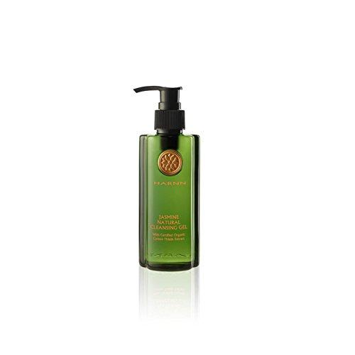 HARNN Gel de nettoyage naturel - Jasmine, gel douche avec extraits de chardon d'ânesse bio (parfait pour le soin du tatouage), 230 ml.