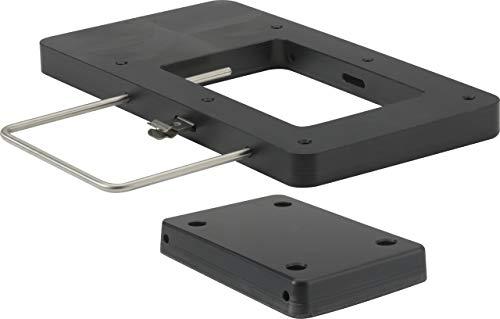 attwood 8M0120717 Xi Series Quick-Release Bracket Kit for Electric Trolling Motors - Black