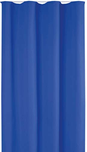 Bestlivings Blickdichte Gardine mit Kräuselband (140x245 cm/Blau), in vielen Variationen