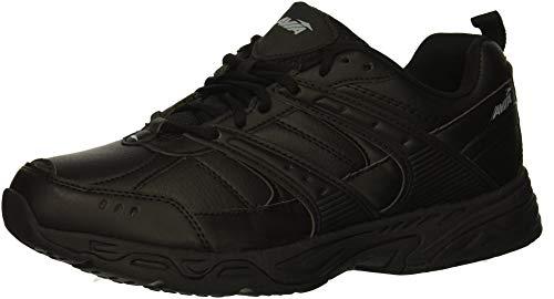 Avia Men's Avi-Verge Sneaker, Jet Black/Castle Rock, 10.5 Medium US