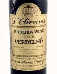 OLIVEIRAS Verdhelo 1905, Madeira