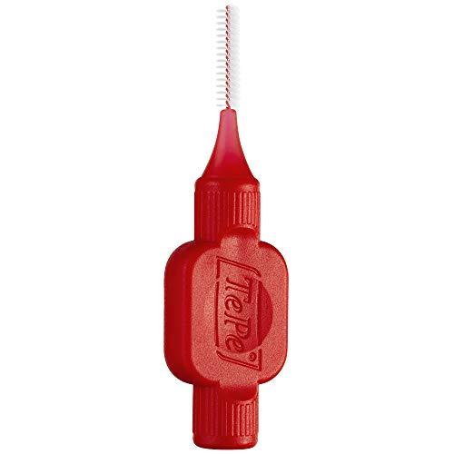 TEPE Interdentale borstels origineel rood 0,5 mm, 25 stuks