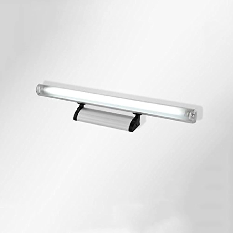 YUN-X LED Spiegelleuchte, Anti-Fog & Wasserdichtes Zeitgenssisches Spiegelleuchte Wandleuchte für Kommode, Badezimmer, Schlafzimmer, Wandmalerei usw. (Farbe   Warm light-7W 45cm)