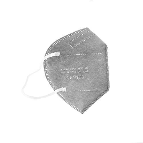 PAIDE P FFP2-Masken, CE-Zertifiziert, atmungsaktiv, 5 Schichten, Erwachsene, Einweg, 5 Schichten (c6)