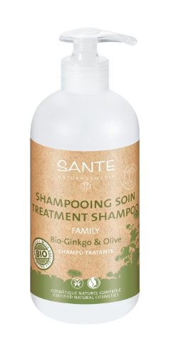 Santé - 2024shaSoinL - Family - Hygiène Corporelle - Shampooing Soin gingko et Olive Bio - 500 ml