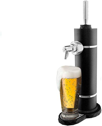 eCostConnection Deluxe Portable Ultrasonic Wave Draft Beer Maker Works With Canned or Bottled Beer