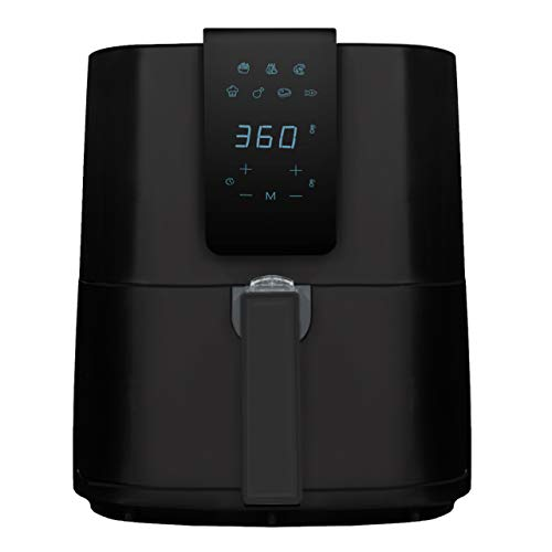 Emerald Air Fryer 1800 Watts w/ Digital LED Touch Display & Slide out Pan/Detachable Basket 5.2L Capacity (1804-5.0)