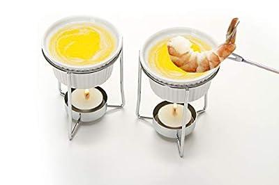 Prepworks by Progressive Ceramic Butter Warmer Fondue Set