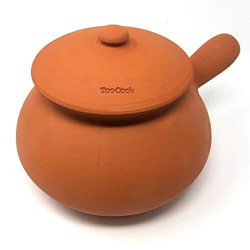 Civicounoshop TooCook - Cocedor de patatas y castañas de forma sencilla natural sin grasas con un sabor único sin alterar las propiedades de la comida. Fabricado en Italia 100% (natural)