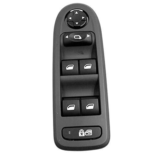 Nrpfell para 308/508/C5 Interruptor de Ventana Principal de VagóN Hatchback de 5 Puertas 2008-2013 Interruptor de Ventana EléCtrica 96644915