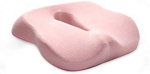 WKDZ Comfort-Sitzkissen sitzende Haltungskorrektur Reliefrückschmerz Skiatica Verhindern Sie Buckelschützer der Wirbelsäule perfekte saugfähige Pads für Bürostühle 1230