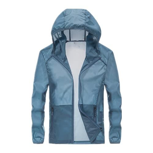 Verano secado rápido transpirable parejas deportes ropa protección desgaste con capucha