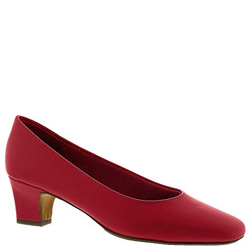 LifeStride Womens Jade Closed Toe Classic Pumps, Red, Size 5.5