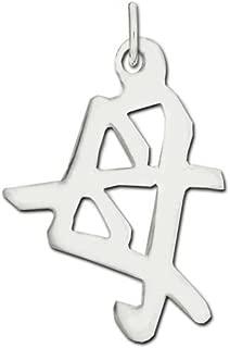 Jewelry Adviser Chinese Kanji Symbols Sterling Silver Mother Kanji Chinese Symbol Charm