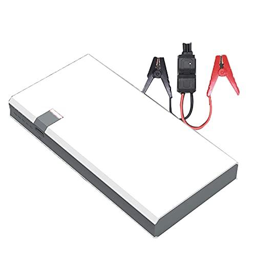 KaiLangDe Fuente alimentación del arrancador Emergencia del Coche 800A 12000mAh 12V Amplificador batería Herramienta portátil para Exteriores 6.0L Gasolina 3.0L Motor Diesel Linterna LED USB