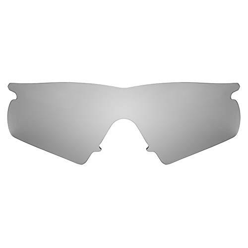 Revant Lentes de Repuesto Compatibles con Gafas de Sol Oakley M Frame Hybrid, Polarizados, Titanio MirrorShield