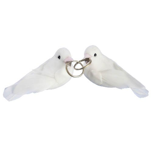 Taubenpaar, 1 Paar im Beutel, ca. 3,5 cm [Spielzeug]