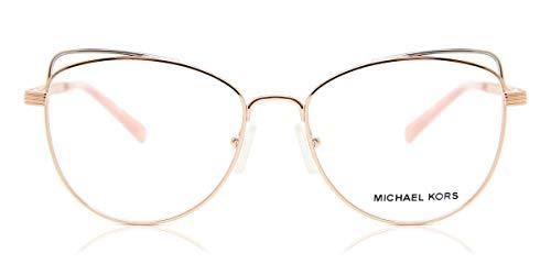 Michael Kors 0MK3025 Monturas de gafas, Rose Gold, 53 para Mujer