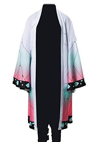 NUWIND Disfraz de Kochou Shinobu para mujer, capa de mariposa, capa de anime, disfraz de carnaval, multicolor, XL