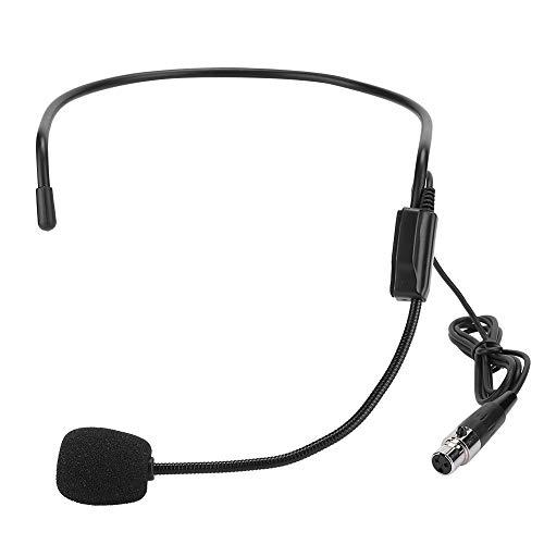 Redxiao Kopf tragendes 2PCS-Mikrofon, bequem zu tragendes Mini-Mikrofon, Mini für Leistungssport