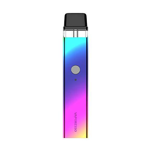 Original Vaporesso XROS Kit with 2ml XROS Mesh Pod Cartridge 800mAh Built-in Battery E Cigarette Vape (Rainbow)