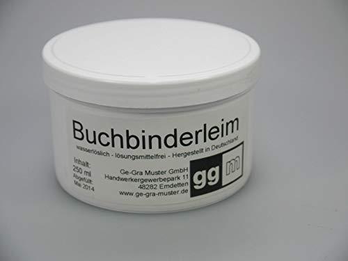 ggm® Buchbinderleim/Bastelleim 250gr. transparent, lösungsmittelfrei