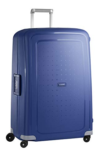 Samsonite S'Cure - Valigia, 138 l, XL (81 cm - 138 L), Blu (Dark Blue)