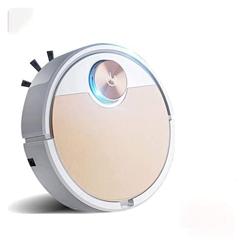 GEETAC Saugroboter, Kehrmaschine, Roboter-Staubsauger, Handy-App, Fernbedienung, Wise Staubsauger, automatische Staubentfernung und Sterilisation, Kehrmaschine (Farbe: Space Silver, Größe: A)