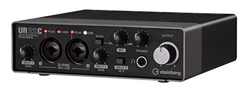 Steinberg UR22C 2x2 USB 3.0 Audio Interface with Cubase AI and Cubasis LE