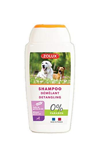 Zolux Entwirrshampoo für alle Hunde mit langem Fell, ohne Paraben, 250 ml