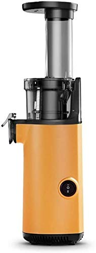 Bradoner Exprimidor 220V eléctrico exprimidor Lento portátil Fruta Fruta Extractor de Verduras exprimidor Naranja Jugo Fabricante Filtro-Free-freeyellow (Color : Yellow)