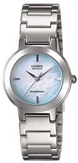 Casio Women's Stainless Steel Band Watch, Analog Display