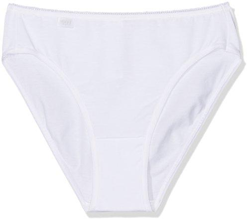 Sloggi Damen Slip 24/7 Cotton TAC3 3er Pack, Weiß (White 03), 38