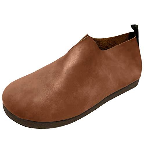 Ginli Shoes Mocassini Comodi per Le Donne Realizzati in Vera Pelle Imbottiti per Un Comfort Totale e Un Comfort in Piedi Ideale per Camminare o Guidare Casual Design Attuale
