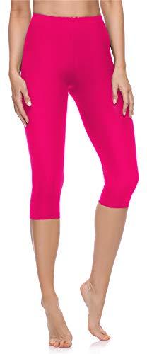 Merry Style Leggins 3/4 Mallas Deportivas Mujer MS10-199 (Amaranto, L)