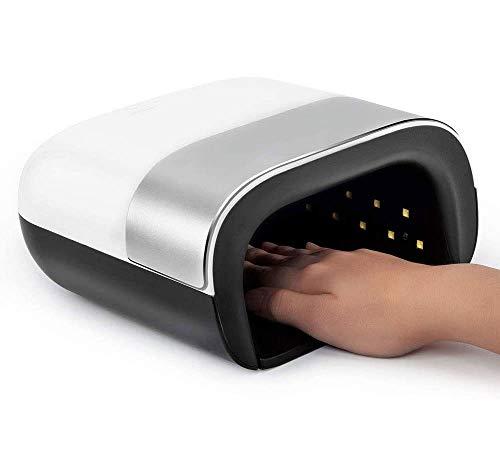 ZOUSHUAIDEDIAN Nail UV LED de la lámpara de 48W Gel secador del clavo con 36 granos de la luz, la luz UV Blanqueamiento de uñas con 4 Configuración del temporizador de salón profesional que cura la lu