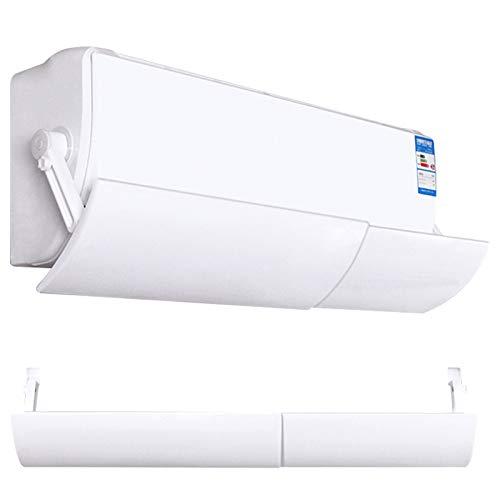 Deflector de aire acondicionado Universal retráctil ajustable aire acondicionado parabrisas protector de viento Panel deflector para oficina en casa
