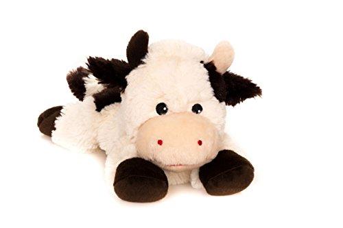 Habibi Plush Classic – 1826 Kuh mit Hirsekörnerfüllung, Wärmestofftier zum Erwärmen in der Mikrowelle/Backofen