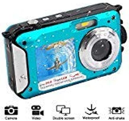 Waterproof Digital Camera 1080P Full HD Underwater Camera...