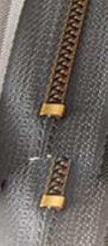 100 unids/lote de cremallera de resina Vintage de 18 cm para pantalones, bolsa de jeans, bolsillo Diy, venta al por mayor, accesorios de costura de ropa al por mayor