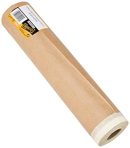 MIARCO 10900 - Cinta cuerpo de papel kraft con cinta Miarco Brico 30cm x 20m