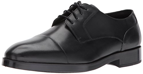 Cole Haan Men's Henry Grand Blucher Cap OX Oxford, Black/Black, 10.5 Medium US